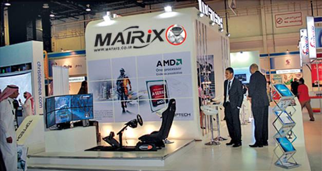 ماتریس در نمایشگاه ها 05